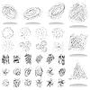 Векторный клипарт: Абстрактный иконки