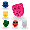 Vector clipart: Masks