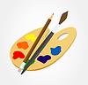 Vector clipart: Palette