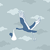 Vector clipart: Stork