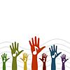 Векторный клипарт: Рука музыки