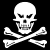 Vector clipart: Skull and bones