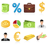 Vector clipart: Icon business