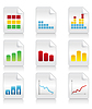 Vector clipart: Icons of schedules