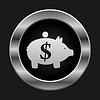 Vector clipart: Pig coin box
