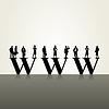 Vector clipart: Www