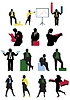 Vector clipart: businessman