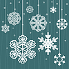 Vector clipart: Christmas snow