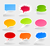 Vector clipart: Conversation cloud