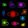 Векторный клипарт: Neon индекс