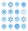 Векторный клипарт: снежинка