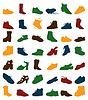 Vector clipart: Footwear