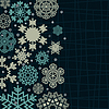 Vector clipart: Structure snow