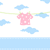 Vector clipart: Children clothes