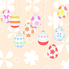 Vector clipart: Easter background