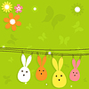 Vector clipart: Easter card
