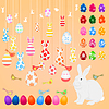 Vector clipart: Easter collection