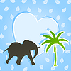 Vector clipart: Elephant