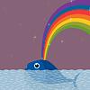Векторный клипарт: кит