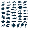 Vector clipart: fish icon