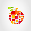 Vector clipart: Apple