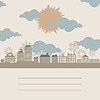 Vector clipart: City frame