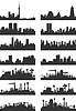 Vector clipart: City landscape
