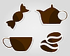 Vector clipart: Coffee icon