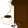 Vector clipart: Coffee menu