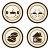Vector clipart: Coffee sticker