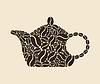 Vector clipart: Coffee teapot