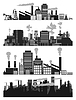 Vector clipart: Factory