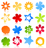 Vector clipart: Flower icon