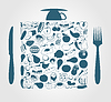 Vector clipart: Food