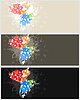 Vector clipart: Frame butterfly