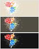 Векторный клипарт: Кадр бабочки