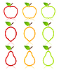 Vector clipart: Fruit icon