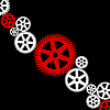 Vector clipart: Gear wheel