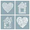 Vector clipart: House and heart