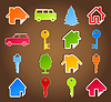 Vector clipart: House icon