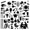 Vector clipart: House subjects