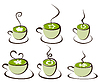 Vector clipart: Icon tea