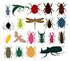 Векторный клипарт: насекомое значок
