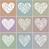Vector clipart: Collection heart