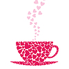 Vector clipart: Cup love