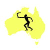 Vector clipart: Australian native