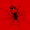 Vector clipart: Man spider