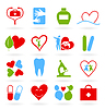 Vector clipart: Medical icons