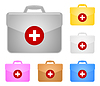 Vector clipart: Medical portfolio