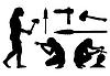 Векторный клипарт: Каменный век